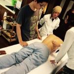 定例勉強会:テイ鍼による治療