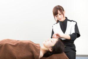 美容鍼灸 フリー素材